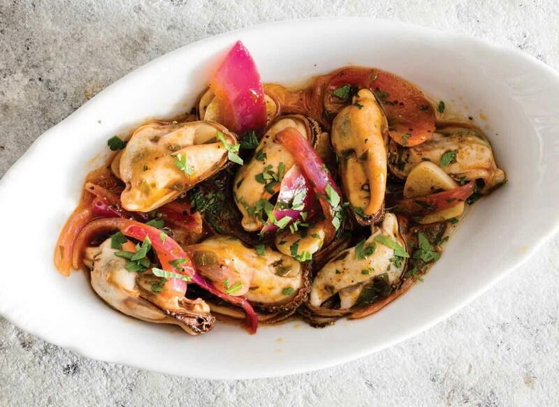 Mussels Escabèche