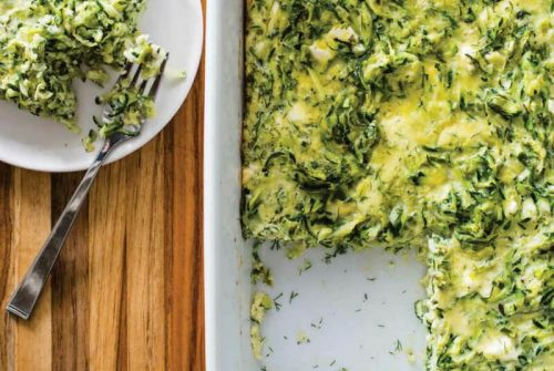 Greek-Style Zucchini and Egg Casserole