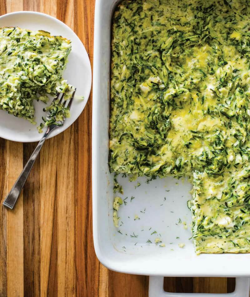 Greek-Style Zucchini and Egg Casserole