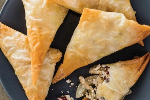 Fennel, Olive, and Goat Cheese Hand Pies