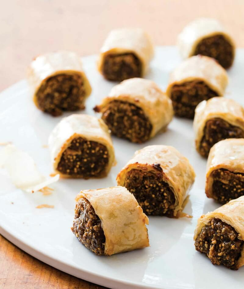 Fig Phyllo Cookies