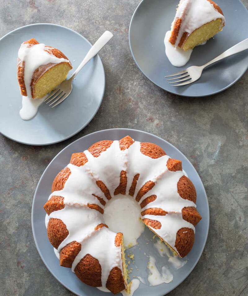 Olive Oil–Yogurt Cake