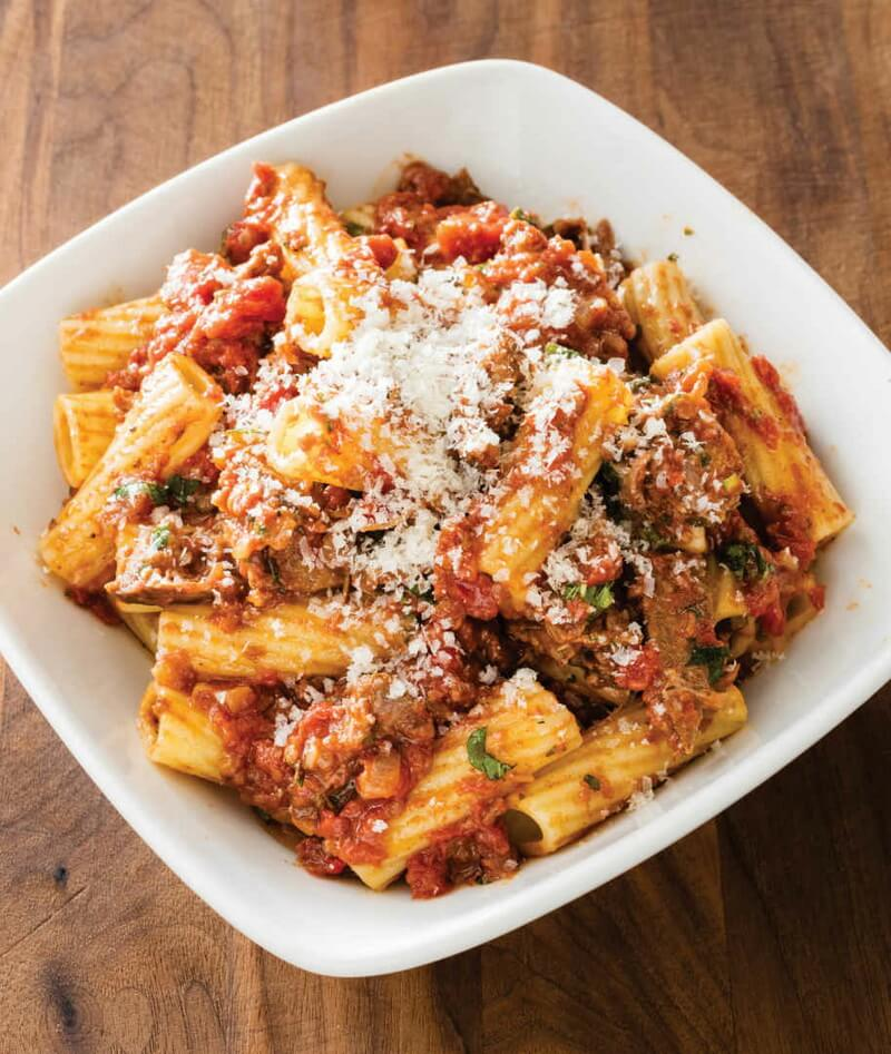Rigatoni with Warm-Spiced Beef Ragu