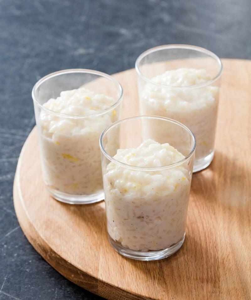 Greek Lemon Rice Pudding - Daily Mediterranean Diet