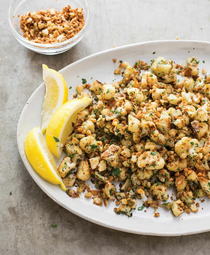 Skillet-Roasted Cauliflower
