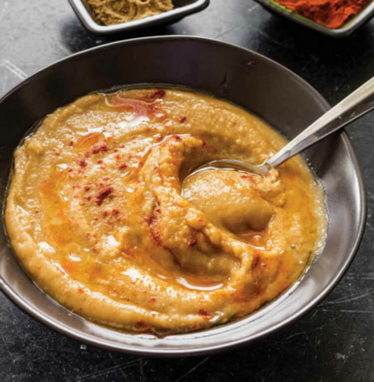 Spiced Fava Bean Soup