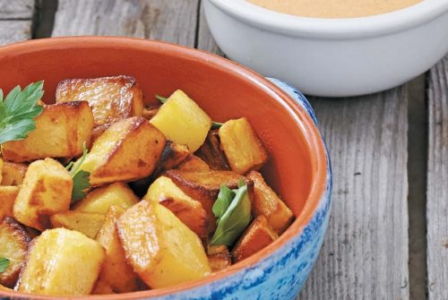Spanish Bravas–Style Potatoes/Papas Bravas