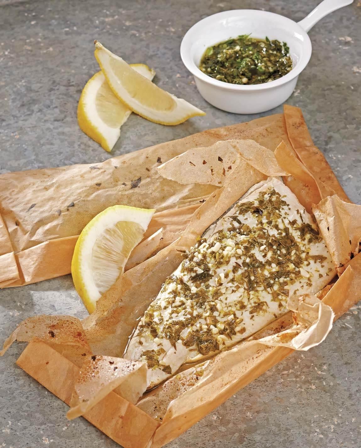 Trout Cooked in Parchment/Trota al cartoccio